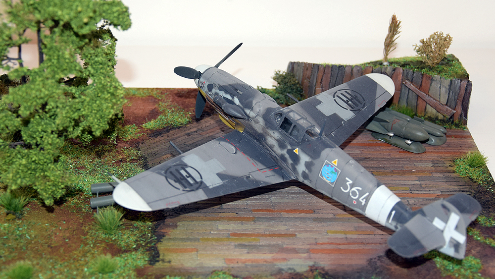 """Messerschmitt BF 109 G-6 """"Italien Aces"""""""