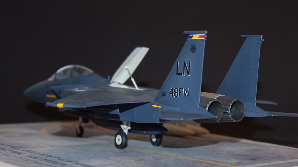 McDonnell Douglas F-15E Strike Eagle Fighter