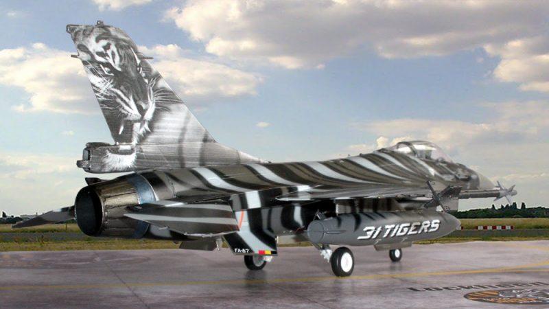 """Lockheed Martin F-16A MLU """"Tigermeet 2009"""""""