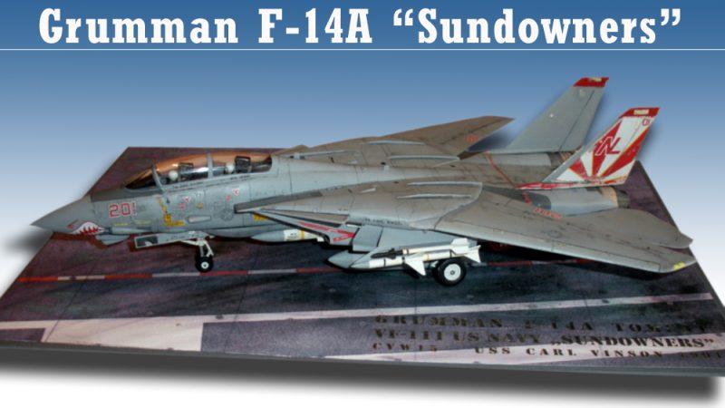 """Grumman F14A-Tomcat """"Sundowners"""""""