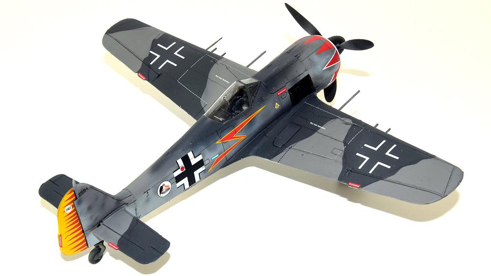 """Focke Wulf FW 190 A-5 """"German Aces"""""""