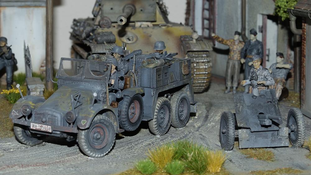 """Deutsche Krupp Protze """"Kfz.69 Zugwagen für PaK"""""""