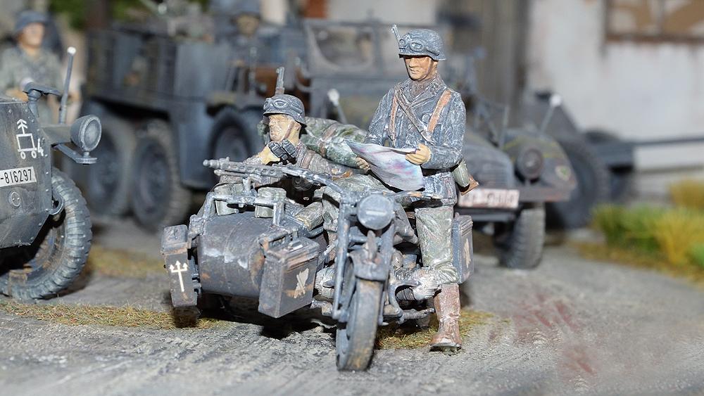Zündapp KS750 Motorrad-Gespann