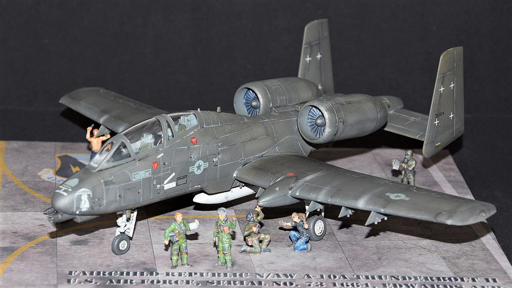 Fairchild-Republic N/AW A-10A THUNDERBOLT II – MODELGALAXY