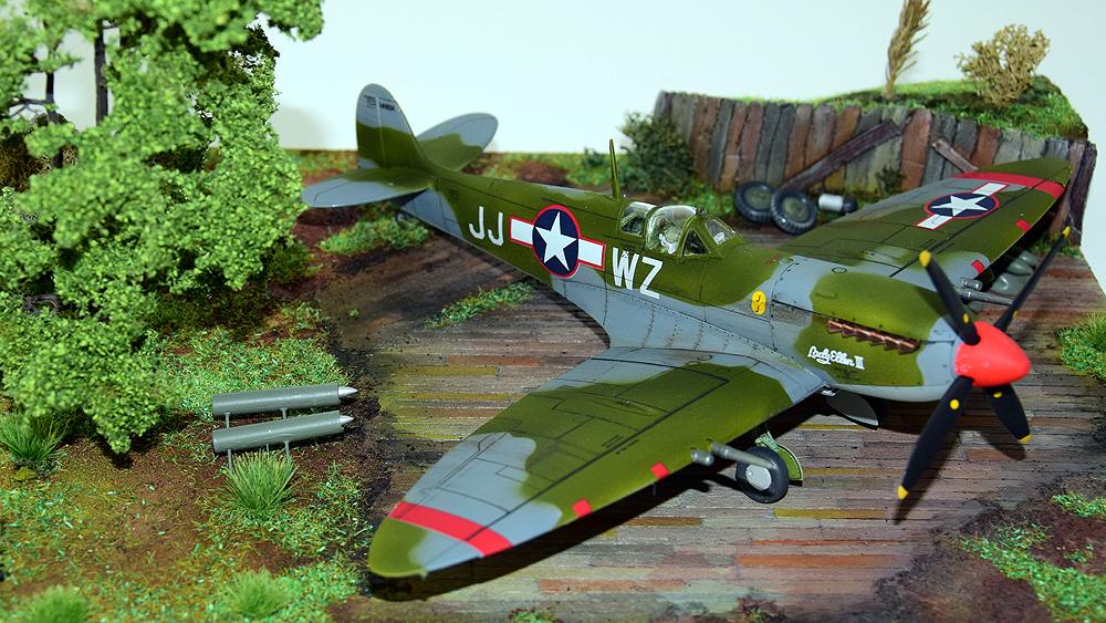"Supermarine Spitfire MK. IX ""American Aces"""